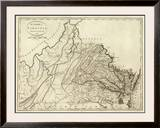 State of Virginia, c.1796 Framed Giclee Print by John Reid
