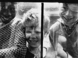 Three Happy Boys - Manchester 1966 Photographic Print by Shirley Baker