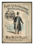 Vesta Tilley, Music Hall Entertainer Giclee Print