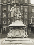 The Founders Statue - Royal Holloway College, Egham, Surrey Photographic Print