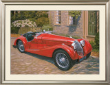 Riley Red Roadster Posters by David Bailey