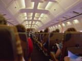 View of an Aeroplane Interior, with Passengers, on a Flight Either to or from Corfu, Greece Photographic Print by Vanessa Wagstaff