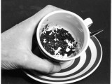 Tea Leaves at the Bottom of a Teacup Photographic Print