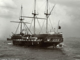 Training Ship Indefatigable, New Ferry, Cheshire Photographic Print by Peter Higginbotham