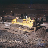 Track Laying - Using a Bulldozer Photographic Print by Heinz Zinran