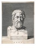 Zeno of Citium Greek Philosopher; Founder of the Stoic School Lámina giclée