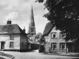 The Pretty Village of Spaldwick, Cambridgeshire, England Photographic Print