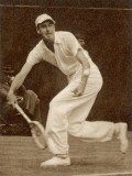 Yvon Petra Playing Tennis Photographic Print
