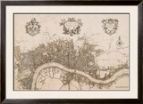 Plan of the City of London, 1720 Posters por John Stow