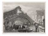 Venice: the Rialto Bridge Giclee Print