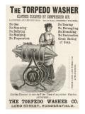 The Torpedo Washer, 1888 Giclee Print