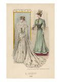 Wedding Dress 1905 Giclee Print by Philip Talmage