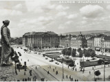 The Main Square of Zagreb, Croatia Photographic Print