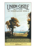 Union Castle Line Poster Giclee Print