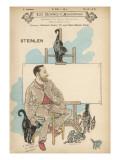 Theophile-Alexandre Steinlen French Artist, Born in Switzerland Giclee Print