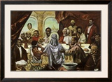 Last Supper Posters by Cornell Barnes
