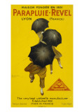 Umbrellas from Parapluie- Revel, Lyons, France - the Very Best Umbrella Manufacturer Giclee Print