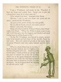 Wizard of Oz, Tin Man Giclee Print