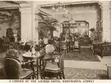 The Lounge at the Hotel Wentworth, Sydney, New South Wales, Australia Photographie