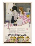 Williams' Talc Powder Giclee Print