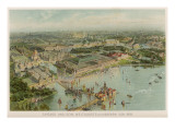 View from the Air of the Chicago World Fair Giclee Print