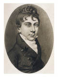 Thomas Love Peacock English Novelist and Poet at the Age of 18 Giclee Print