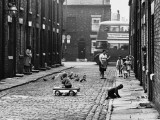 Street Scene - All Saints, Manchester 1964 Photographic Print by Shirley Baker