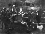 The German Freikorps with an Armoured Car and a Flame Thrower Photographic Print by Robert Hunt