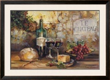 Le Chateau Posters by Marilyn Hageman