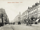 View Looking Down Belgrave Road, Pimlico, London Photographic Print