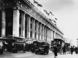 An Exterior View of Selfridges Department Store on London's Oxford Street Photographic Print