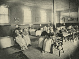 Whitechapel Workhouse Infirmary, Women's Ward Photographic Print by Peter Higginbotham