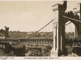 Suspension Bridge, North Shore, Sydney, New South Wales, Australia in 1930 Photographic Print