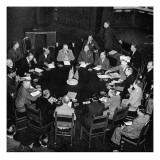 The Potsdam Conference; Second World War, 1945 Giclee Print