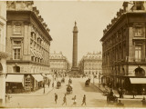 A Quiet Day in the Place Vendome Photographic Print