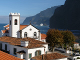 Village Church at Ponta Delgada, Madeira Photographic Print