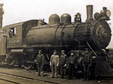 Steam Engine from the Canadian Pacific Railway, Vancouver Photographic Print