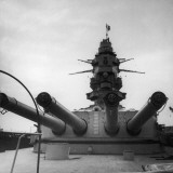 Turret of French Navy Ship the 'Dunkerque' Photographic Print by Robert Hunt