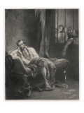 Torquato Tasso Italian Writer, Incarcerated in a Madhouse Giclee Print