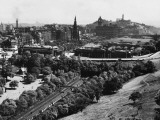 A Fine View of Edinburgh, Scotland from the Castle Ramparts Photographic Print