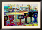 Jobs, Venice Beach, California Framed Giclee Print by Steve Ash