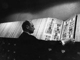 Thousands of Photographs in the Files of Interpol, Paris - and Each One the Face of a Crook Photographic Print