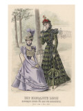 Two High-Fashion Women Giclee Print by Philip Talmage