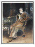 William Gillette American Actor and Dramatist, in the Role of Sherlock Holmes Giclee Print