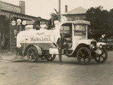 Vintage Petrol Tanker in New South Wales, Australia Photographic Print
