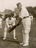 W.G. Grace Batting at Gravesend, 1913 Photographic Print