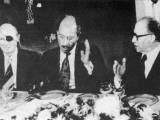 Anwar Sadat at a State Dinner Photographic Print
