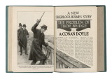 The Problem of Thor Bridge - a Sherlock Holmes Story by Arthur Conan Doyle Giclee Print