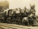 Steam Engine of the Canadian Pacific Railway, Vancouver, Canada Photographic Print