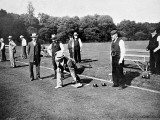 A Game of Bowls, Britain, 1903 Photographic Print